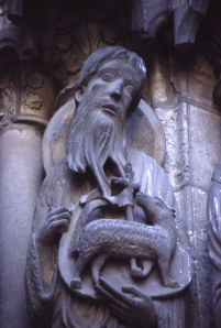 John the Baptist, Chartres Cathedral