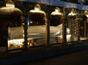 The tomb of St. Catherine of Siena