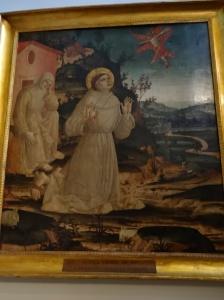 St. Francis on Alverna