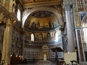 St. John Lateran - apse with the Pope cathedra