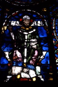 Thomas Becket: Canterbury Cathedral window