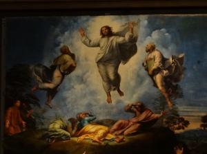 Rafael's Transfiguration (detail)
