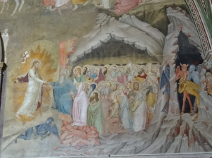 The Harrowing of Hell Spanish Chapel Santa Maria Novella Florence