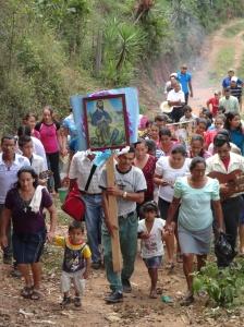 Procession, San Isidro La Cueva, 2013