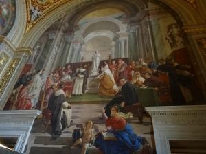 Mural, Vatican Museum