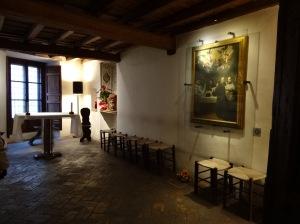 St. Ignatius' room, Rome