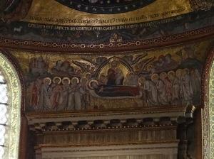 Fresco, Santa Maria Maggiore, Roma
