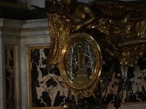 Roma: Gesu: arm of St. Francis Xaview