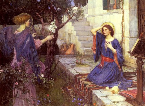 800px-John_William_Waterhouse_-_The_Annunciation